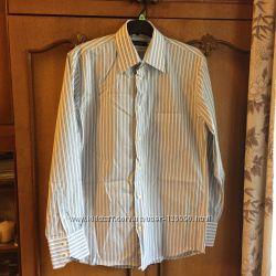 Рубашка новая, но без бирки, 42 по вороту на рост 176-182 см