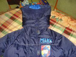 Куртки на мальчика с рыцарем Майком, р. 5-6