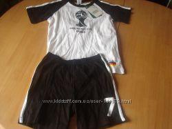 Комплект футболка и шорты, форма немецкого футбольного клуба
