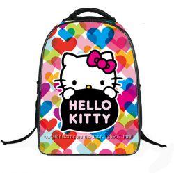 Школьные рюкзаки для девочек с kitty, Monster High, Ельзой, Софией