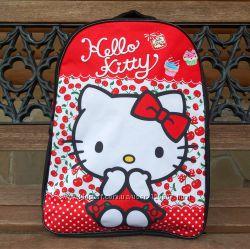 Рюкзак школьный Hello Kitty с ортопедической спинкой недорого купить