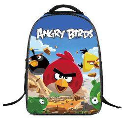 Школьный рюкзак Angry Birds для мальчика портфель в школу энгри бердс