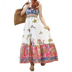 Красивые летние сарафаны из хлопка, льна, сарафан с вышивкой купить в Киеве