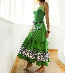 Длинные летние юбки из Индии купить в магазине Katakali