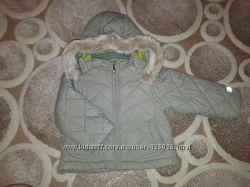 Демисезонная куртка 6-9 мес в идеальном соссиоянии