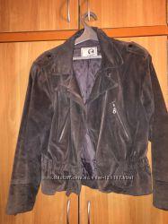 Куртка косуха натуральная замша