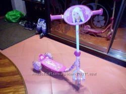 самокат Disney Barbie