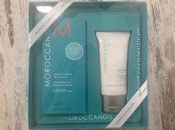 США Подарочный набор масло для волос и крем для рук MOROCCANOIL
