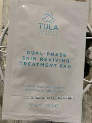 США Салфетка для шлифовки кожи лица TULA Skin Reviving Treatment Pads