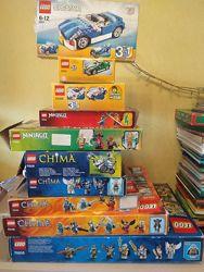 Lego оригинал в коробках Chima Чима и  Ниндзяго Ninjago