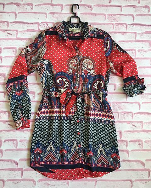 Платье-рубашка Parisian