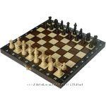 Маленькие шахматы из дерева