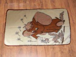 Детское одеяло из натуральной овечьей шерсти