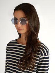 Kaleos очки солнцезащитные в круглой оправе