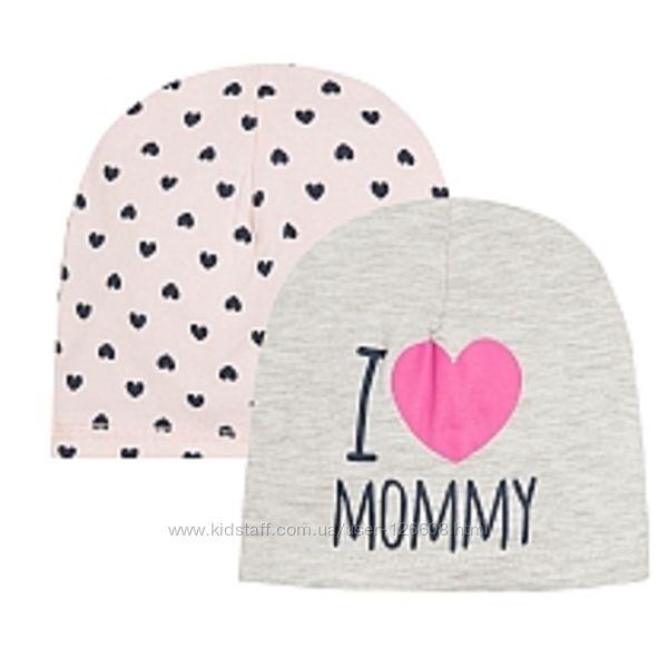 Разм. 44-46, 48-50 см. Комплект шапочек I love mommy Cool Club. В наличии