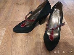 Замшевые туфли Пассио Passio
