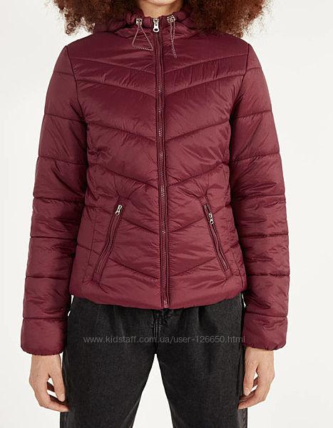 Стёганая куртка Bershka размер С Бершка