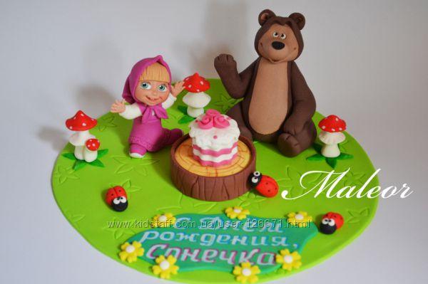 Как сделать торт маша и медведь