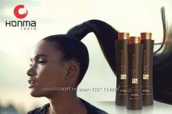 кератиновое выпрямление волос кератином homnatokyo