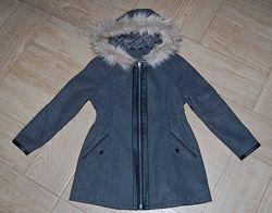 Пальто George на 7-8 лет