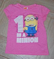 Фирменные футболки Некст, Джордж - на 6-8 лет