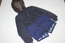 Теплая куртка парка George на 9-10 лет рост 135-140 см