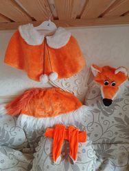 Два костюма лисички на утренник