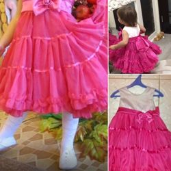 Красивые платья 1-2года
