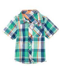 Рубашки из натуральной ткани, США, от 3 до 6 лет