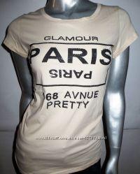 Замечательные футболки, М-L, р. 48-50, новые