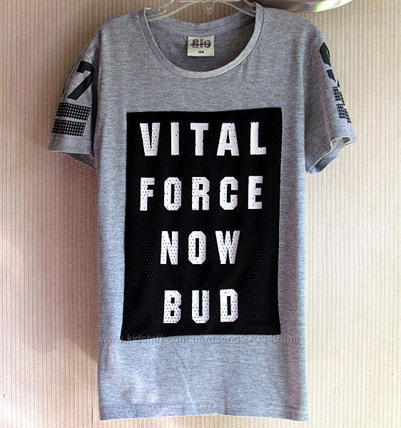 Фирменные футболки, от 6 до 9 лет