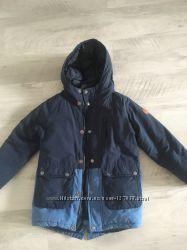 Куртка-парка Zara в 128 размере идеальная