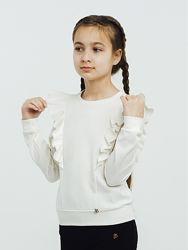 Смил Smil школьная нарядная блузка-свитшот