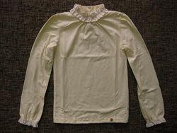 Smil блузка гольф молочная 140р в наличии