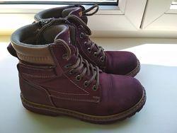 Ортопедические демисезонные ботинки тм tutubi турция 34р