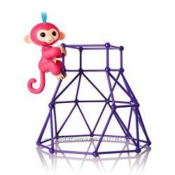 Набор с интерактивной обезьянкой Fingerlings Aimee. Оригинал WowWee