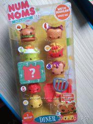 Набор ароматных игрушек NUM NOMS S2 - Бургермания 6 намов, 2 нома