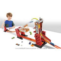 Hot Wheels Track Builder Stunt Bridge Kit Трек Разводной мост Оригинал