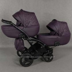 Универсальная коляска для двойни Tako Junama Enzo Duo Slim