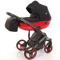 Детская коляска 2 в 1 Tako Junama Diamond Limited Red