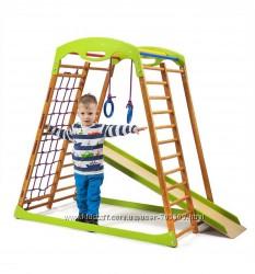 Детский спортивный комплекс для дома Sportbaby Sportwood