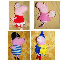 Мягкая Свинка Пеппа и Джердж. Разные. Много