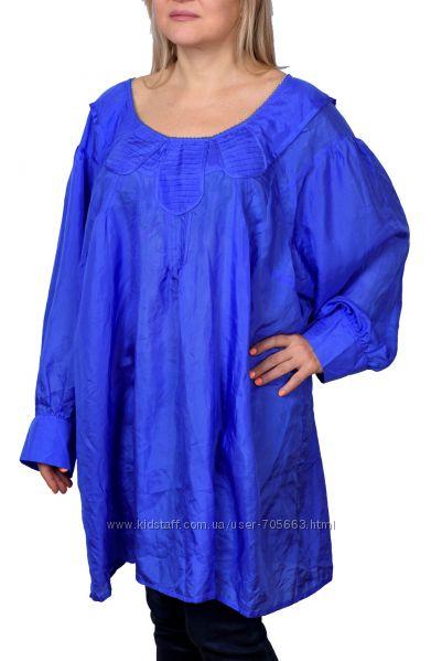 Туника блуза из шелка Ann Harvey