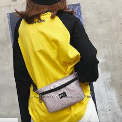 Блестящая Поясная бананка , маленькая сумочка Victorias Secret Pink