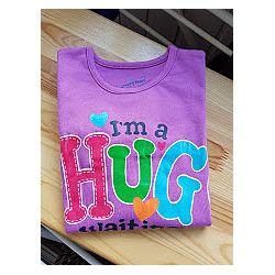 Брендовый реглан jumping beans обнимаю  hug с блестками скидка до 20 процен