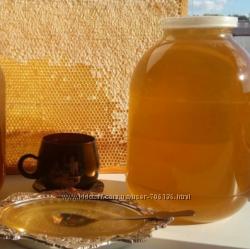 Ароматный мед  липа, разнотравье, подсолнух, откачан 6. 08. 2019