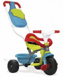 Детский велосипед с багажником и сумкой Smoby