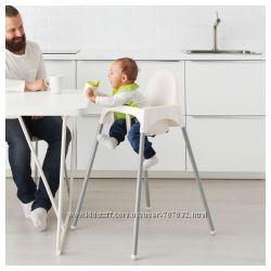 Детский стул для кормления со столешницей ANTILOP IKEA