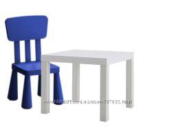 Детский стол и стул ИКЕА IKEA
