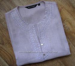Блуза  16 размер Цвет пудра
